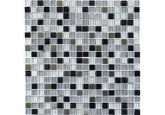 More Information  Specification  The Stardust Glass & Metal Mosaic tile is great for creating the Black and Silver finish in either your kitchen or bathroom.  Stardust Glass & Metal Mosaic is perfect for adding a touch of sparkle in your home. Just £9.60 per sheet