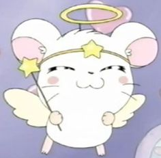 Image about cute in ♥♥ Kawaii ♥♥ by Jordy on We Heart It - daz kewl - anime, hamtaro, and pastel image - Cartoon Profile Pics, Cartoon Profile Pictures, Cartoon Pics, Cute Cartoon, Aesthetic Images, Pink Aesthetic, Aesthetic Anime, Hamtaro, Cute Memes