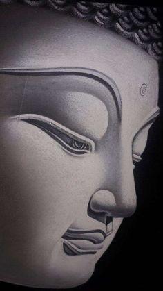 Buddha Artwork, Buddha Wall Art, Buddha Decor, Buddha Painting, Buddha Garden, Buddha Zen, Zen Pictures, Buddhist Practices, Buddha Face