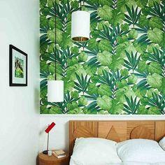 papier peint palmes