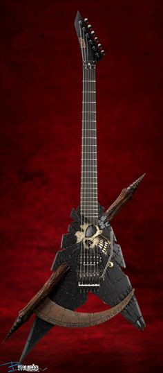ESP Custom Shinigami V  You must treat this guitar with some handling respect...for sure!