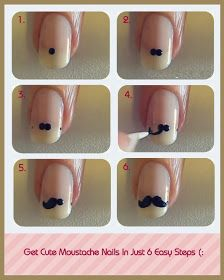 Fashionate Trends: Simple Nail Art Step by Step Instruction