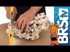 How to aquascape a saltwater reef aquarium - Episode 1: Aquascaping Puka...