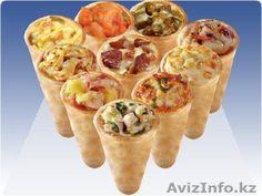 Конус пицца оборудование тележка