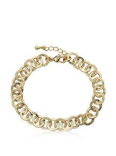 Little Miss Twin Stars Open Link Chain Bracelet