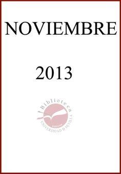 Nuevas adquisiciones en Derecho Administrativo. Noviembre 2013.