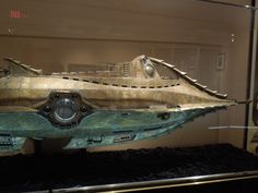 Nautilus filming model from 20,000 Leagues Under the Sea... | Hollywood Movie Costumes