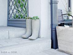 Baba Ma Dom: Betonowe buty DIY