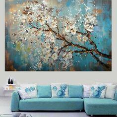 pinturas al oleo de flores abstractas - Pesquisa Google Más