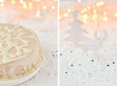 white christmas. Gold Christmas, Christmas Baking, Xmas, Caramel, Mousse, Sweet Tea, Sweet Desserts, Food Styling, Peppermint