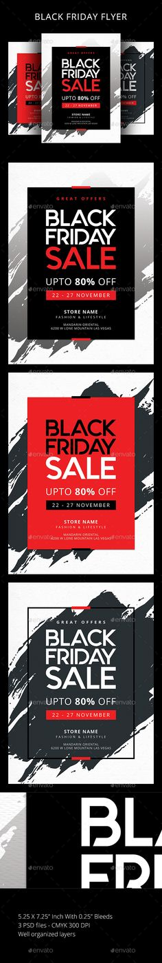 Buy Black Friday by sunilpatilin on GraphicRiver. Black Friday FlyerBlack Friday Flyer is designed for all kind of events!The flyer is fully layered and organized to k. Text Tool, Event Flyer Templates, Sale Flyer, New Years Sales, Sale Promotion, Off Black, Winter Sale, Christmas Sale, Print Design