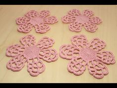 Handcrafting a satin stitch flower embroidery may well be a lost art in the near future. However, this is a skill that anyone can practice and learn and make beautiful embroidery handpieces for all occasions. Crochet Flower Tutorial, Form Crochet, Crochet Art, Crochet Motif, Crochet Flowers, Irish Crochet Patterns, Crochet Patterns For Beginners, Crochet Designs, Hand Embroidery Tutorial