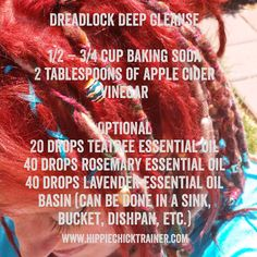 Live the life you love: Preparing for first Dread wash - Combining a Dread...