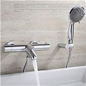 The New Look of Contemporary Bathroom Faucets – Bathroom Design Bathroom Shower Faucets, Shower Faucet Sets, Shower Valve, Shower Set, Bathroom Fixtures, Bath Shower, Contemporary Bathroom Faucets, Wall Mount Tub Faucet, Glass Waterfall