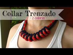 Collar trenzado - Braides necklace hecho por petición de una de mis seguidoras. Que mejor que llevar cosas hechas por una misma. Más original, imposible! Col...