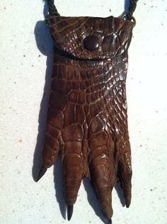 Vintage Oddity Genuine Alligator Foot handmade by KYCVintage, $110.00