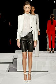 {style inspiration | at the office : the classic white blazer} by {this is glamorous}, via Flickr