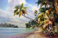 Roland Lee -One Foot Island – Giclee Print