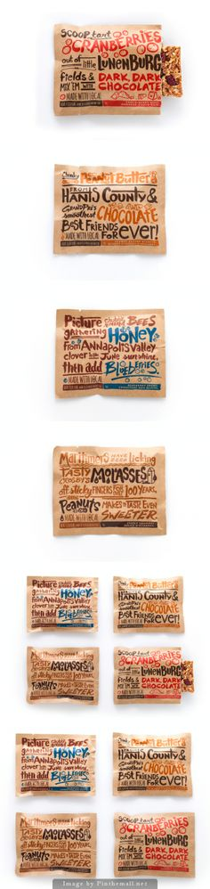Made with Local // Packaging fet amb lettering