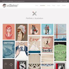 Website update   gobastiano.com - #website #websiteupdate #illustration #vector #vectorart #art #characterdesign #design #graphicdesign #designer #gobastiano #bastiangroscurth