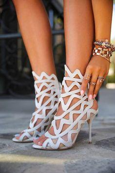 Sophia Webster Mila Sandals ~ 20 Trendy Shoe Styles On The Street For2014 - Style Estate -