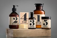 Terrible Twins - Sweden: Spa Series - all natural bath products and candles - designed & handmade in Sweden