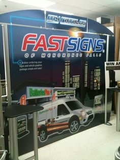 Let FASTSIGNS of Menomonee Falls, WI help solve your marketing & visual communications challenges with signs, banners, graphics & much more. Point Of Purchase, Point Of Sale, Menomonee Falls, Fast Signs, St Francis, Retail, Display, Check, Floor Space