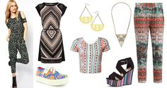 SS13 fashion trend: Aztec