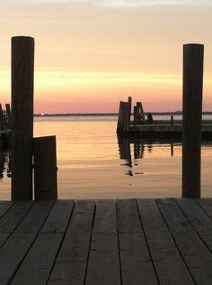 sittin' on the docks