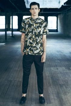 Men fashion:AllSaints Spring-Summer 2014 Menswear