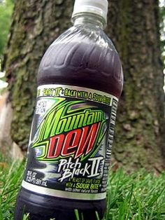 Bring it back!  Mountain Dew Pitch Black II best ever!!!
