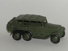 Dinky Toys - reconnaissance car (#152b, then #671) by The Brucer, via Flickr