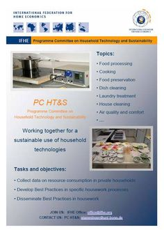 Promotion Material - Programme Committee Household Technology & Sustainability (PC HT) - Questions and Answers Documents for Best Practices in Cooking, Automatic Dishwashing and Manual Dishwashing.