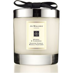 Jo Malone London Mimosa & Cardamom Home Candle (¥6,555) ❤ liked on Polyvore featuring home, home decor, candles & candleholders, home decor candles, mimosa candle, jo malone, jo malone candle and honey candles