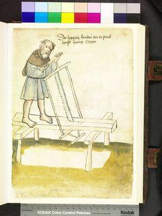 Mendel Housebook, Amb. 317.2° Folio 39 recto, c 1425, Nuremberg (Nürnberg)