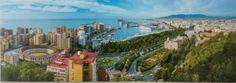 Panoramica #Gibralfaro #Malaga