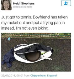 36 Great Pics And Memes to Improve Your Mood - Funny Gallery Funny Photos, Best Funny Pictures, Jouer Au Tennis, Tennis Funny, Video Humour, Can't Stop Laughing, Laugh Out Loud, The Funny, Funny Boy