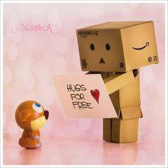 Abrazos gratis.