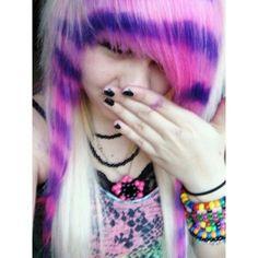 Will crazy blonde emo teen not
