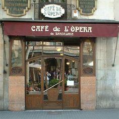 Cafe de L' Opera- Barcelona                                                                                                                                                                                 Más