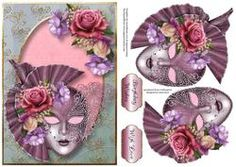 Beautiful Belle Roses Masque