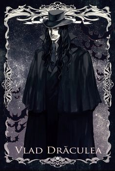 """arikatu-chan: """"""""He walked the streets of Romania, looking for a Bride. He had been alone for years, watching happy couples be free, full of life, and full of love. He looks along the streets when he. Dracula, Dark Romance, Werewolf Hunter, Castlevania Anime, Hellsing Alucard, Vampire Art, Vampire Photo, Vlad The Impaler, Strange Beasts"""