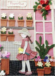 """""""Chuly"""" @ Flower Shop.....By Churi Chuly Shop"""
