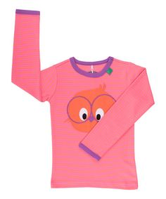 Orange & Pink Birdy Long Sleeved Top  by Fred's World by Green Cotton on #zulilyUK today!