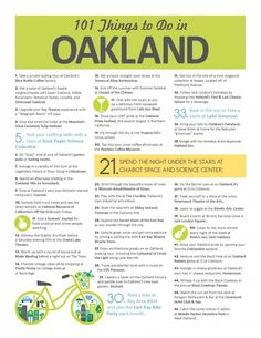 Visit Oakland   101 Things to Do in The Town - Visit Oakland