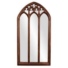 Basilica Tuscan Brown Mirror Howard Elliott Collection Rectangle Mirrors Home Decor