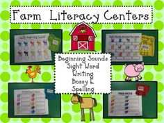 Mrs. Mayas' Kindergarten: Farm Fun! :)