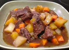 Slow-Braised Beef and Acorn Squash Stew