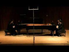 """""""Champagne Toccata"""" William Gillock  (perf. Lyons Quatuor Piano)"""