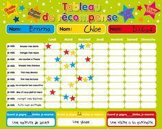 Récompense magnétique / Star / Tableau des responsabilités / de comportement… Plus